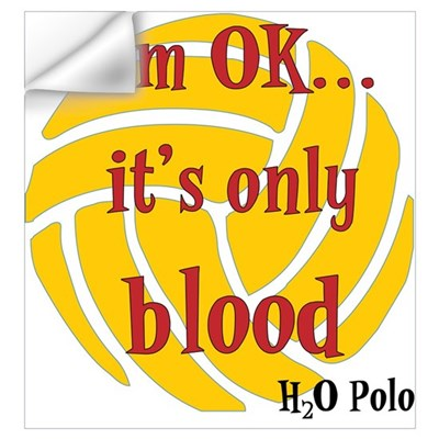 only blood Wall Decal