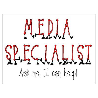 Media Specialist Poster