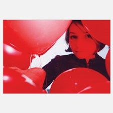 """""""Miss Mary in Red Balloons"""" by John Soares"""