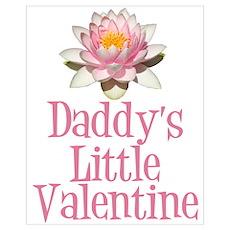 Daddy's Little Valentine Poster