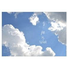All is Well Canvas Art