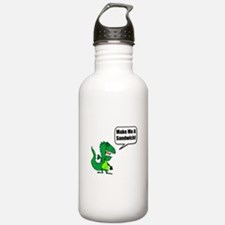 Dinosaur Make Sandwich Water Bottle