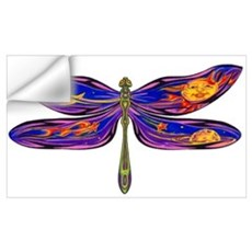 Celestial Fantasy Dragonfly Wall Decal