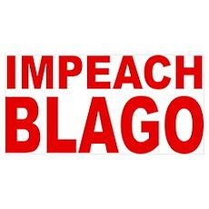 Impeach Blago Poster