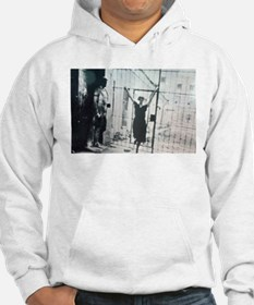 Akhmatova in front of gate Hoodie