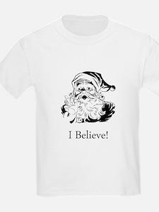 Santa I Believe T-Shirt