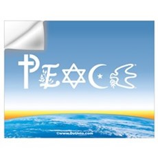 Peace On Earth at Sunrise Wall Decal