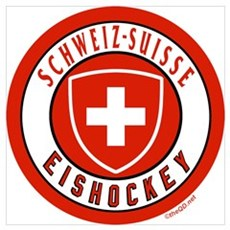 Team Switzerland Ice Hockey Framed Print