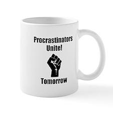 Procrastinators Unite Mug