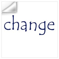 change Wall Decal
