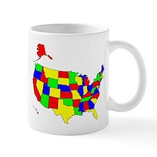 MAP OF AMERICA Mug