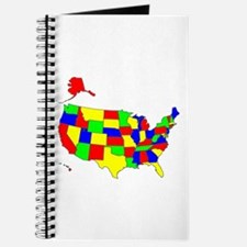 MAP OF AMERICA Journal