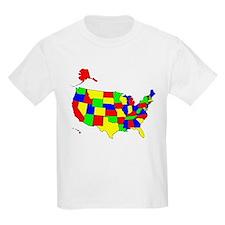MAP OF AMERICA T-Shirt