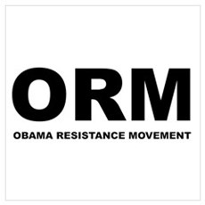 Obama Resistance Movement Poster