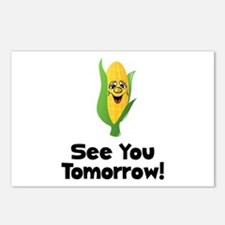 See You Tomorrow Corn Postcards (Package of 8)