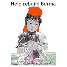 Burma Girl Poster