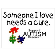 Someone I Love Needs A Cure Poster