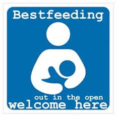Bestfeeding Welcome Here Canvas Art