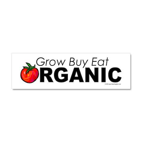 Organic Gardening, Farming Car Magnet 10 x 3