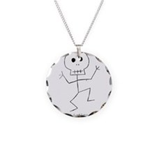 Scary Stickman Necklace