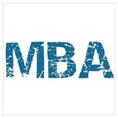 MBA Degree Canvas Art