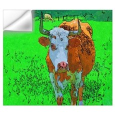 TEXAS COW Wall Decal