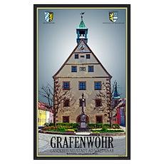 Grafenwöhr Rathaus Poster