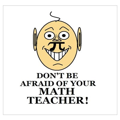 Don't be AFRAID of your MATH Poster