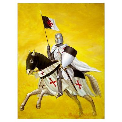 Mounted Templar Poster