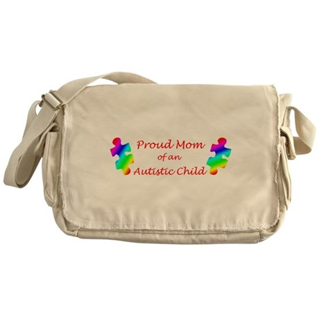 Autism Mom Messenger Bag