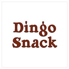 Dingo Snack Poster