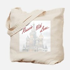 From Russia Tote Bag