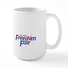 Large Freedom Fair Mug
