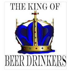 KING OF BEER DRINKERS Poster
