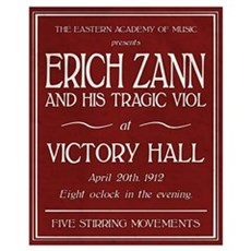 Erich Zann Concert (Small) Canvas Art