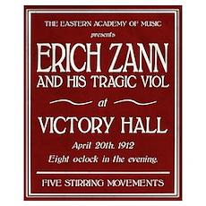 Erich Zann Concert (Small) Poster