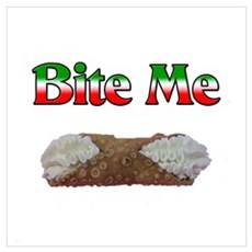 Bite Me Canvas Art
