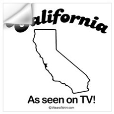 California - as seen on tv Wall Decal