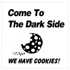 Come to the Darkside Canvas Art