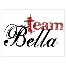 Team Bella Framed Print