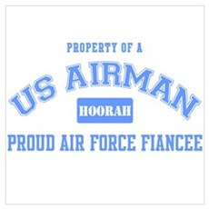 Proud Air Force Fiance Poster