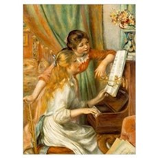 Girls at the Piano Poster