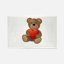 Cute teddybear Rectangle Magnet (100 pack)