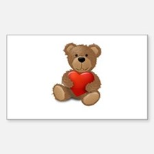 Cute teddybear Decal