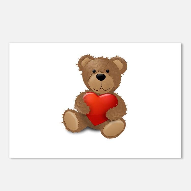 Cute teddybear Postcards (Package of 8)