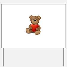Cute teddybear Yard Sign
