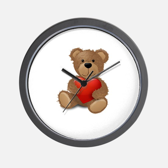 Cute teddybear Wall Clock