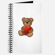 Cute teddybear Journal