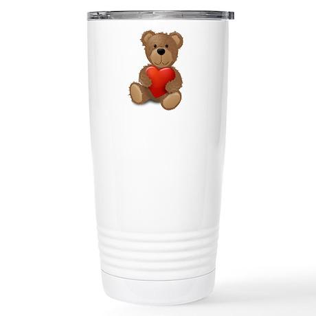 Cute teddybear Stainless Steel Travel Mug