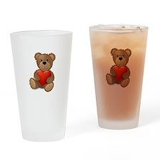 Cute teddybear Drinking Glass